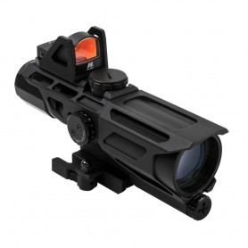 NC STAR GEN3 USS 3-9X40 SCOPE W/RED DOT/MIL-DOT