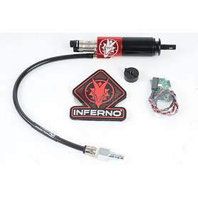 WOLVERINE AIRSOFT HPA SYSTEM GEN 2 INFERNO M4 CYLINDER WITH SPARTAN EDITION ELECTRONICS ( LO LIPO ) FOR VERSION 2 M4 GEARBOX