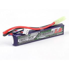 TURNIGY NANO-TECH 1000MAH 2S 20-40C LIPO AIRSOFT PACK