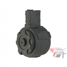 ANGEL CUSTOM 1500 ROUND FIRESTORM DRUM FLASHMAG FOR M4 / M16 SERIES AIRSOFT AEG