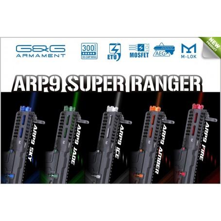 FUCILE ELETTRICO AEG CM16 ARP9 CQB CARBINE BLACK G&G SUPER RANGERS (GG-EGC-ARP-9MM)