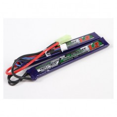 TURNIGY NANO-TECH 1200MAH 2S 25-50C LIPO AIRSOFT PACK CELLE SEPARATE