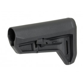 SLIM AR-15/M4 PDW STOCK - BLACK [KUBLAI]