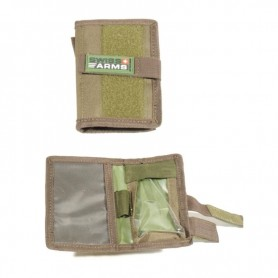 SWISS ARMS ARM MAP POUCH OD GREEN