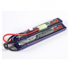 TURNIGY NANO-TECH 2000MAH 2S 15 ~ 25C LIPO AIRSOFT PACK CELLE SEPARATE