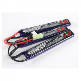 TURNIGY NANO-TECH 2000MAH 3S 15 ~ 25C LIPO AIRSOFT PACK CELLE SEPARATE