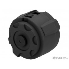 Angel Custom 1500 Round Thunderstorm Electric Winding Drum Magazine (Color: Black / Body Only)