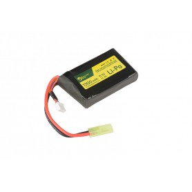 11.1V 1300MAH 20/40C BATTERY - AN/PEQ SIZE ELECTRO RIVER
