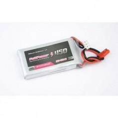 FULLPOWER - Batteria Lipo 2S 450 mAh 35C Silver V2 - BEC