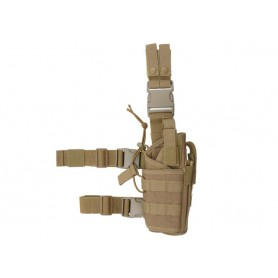 FONDINA COSCIALE 2-WAYS CARRYING TYPE TACTICAL DROP LEG HOLSTER - OD 8FIELDS