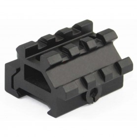COMPACT ANGLE RISER QD PICATINNY RAIL MOUNT - VECTOR OPTICS