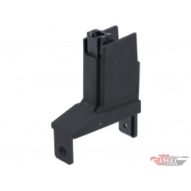 Angel Custom Magazine Adapter for Firestorm / Thunderstorm Airsoft AEG Drum Magazines (Version: Scorpion EVO / Black)