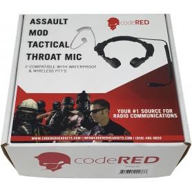"Code Red Headsets ""Assault Modular Throat Microphone"" Headset"
