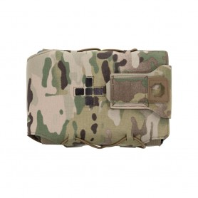 Laser Cut Small Horizontal Individual First Aid Kit Pouch multicam warrior assault systems