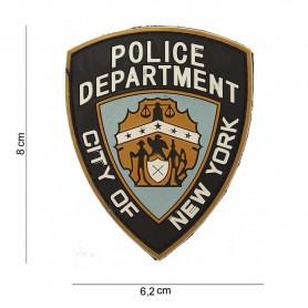 101INC PATCH 3D PVC POLICE DEPARTMENT