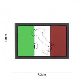 101INC PATCH 3D PVC ITALIA CON BORDO