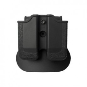 IMI - DOUBLE MAGAZINE POUCH FOR BERETTA 92/96 BLACK