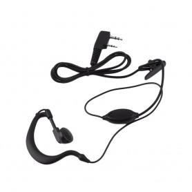 BAOFENG AURICOLARE CON MICROFONO E PTT VERSIONE STANDARD (BF-EAR1)