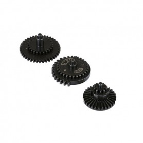 SET OF HIGH SPEED 13:1 REINFORCED THREAD-WHEELS