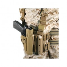 FONDINA BLACKHAWK SERPA TACTICAL LEVEL 2 HOLSTER COYOTE