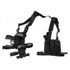 VEGA HOLSTER 2V70 PORTA MP5 CON TRIPLO PORTA CARICATORE IN CORDURA