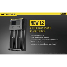 Intellicharger NEW i2 NITECORE