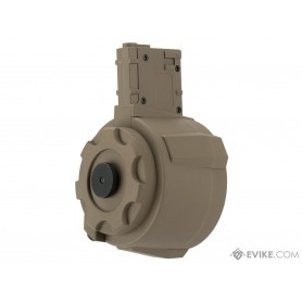 ANGEL CUSTOM 1500 ROUND FIRESTORM DRUM FLASHMAG FOR M4 / M16 SERIES AIRSOFT AEG DE