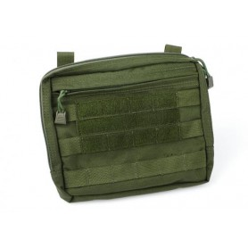 TMC MOLLE Flat Square Utility Pouch (OD )