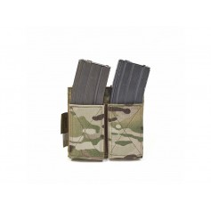 WARRIOR ASSAULT SYSTEM DOUBLE ELASTIC MAG POUCH