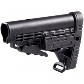 CAA TACTICAL BLACK CBS COLLAPSIBLE COMMERCIAL SPEC BUTTSTOCK