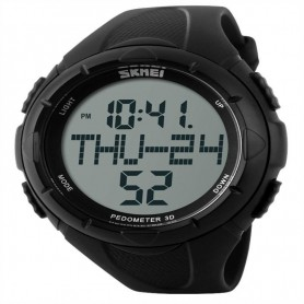 OPENLAND WATCH WITH PEDOMETER BLACK