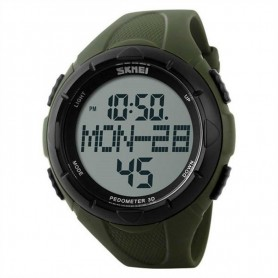 OPENLAND WATCH WITH PEDOMETER GREEN