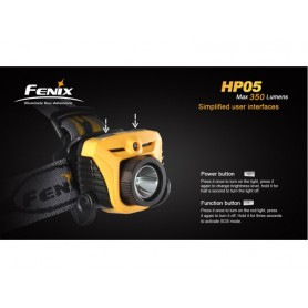 FENIX HP05 XP-G R5  HEADLAMP