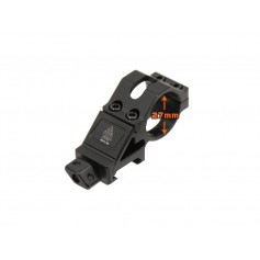 LEAPERSP 25.4MM ANGLED OFFSET LOW PROFILE RING MOUNT