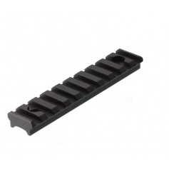 LEAPERS PICATINNY RAIL SECTION 10 SLOTS FOR SUPER SLIM HANDGUARD