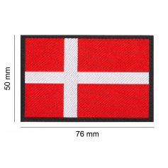 CLAWGEAR DENMARK FLAG PATCH