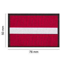 CLAWGEAR LATVIA FLAG PATCH