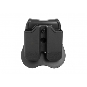 CYTAC DOUBLE MAG POUCH FOR GLOCK 17 / 19