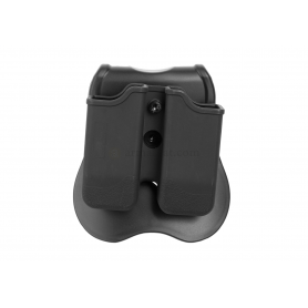 CYTAC DOUBLE MAG POUCH FOR P226 / BERETTA 92 / USP