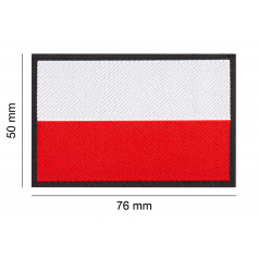 CLAWGEAR POLAND FLAG PATCH
