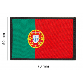 CLAWGEAR PORTUGAL FLAG PATCH
