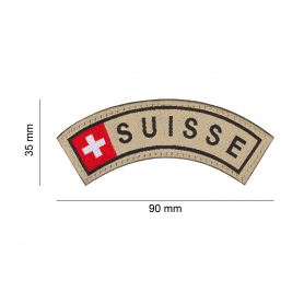 CLAWGEAR SUISSE SMALL TAB PATCH