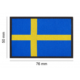 CLAWGEAR SWEDEN FLAG PATCH