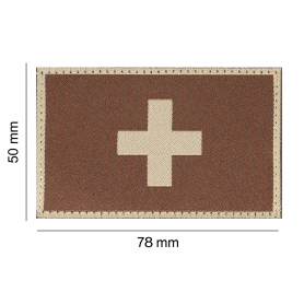 CLAWGEAR SWITZERLAND FLAG PATCH