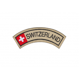 CLAWGEAR SWITZERLAND SMALL TAB PATCH