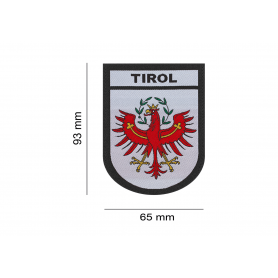 CLAWGEAR TIROL SHIELD PATCH