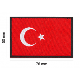 CLAWGEAR TURKEY FLAG PATCH