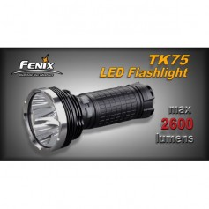 FENIX TORCIA TK75 - 2600 LUMEN