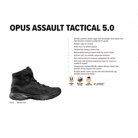 MAGNUM OPUS ASSAULT TACTICAL 5.0 BLACK